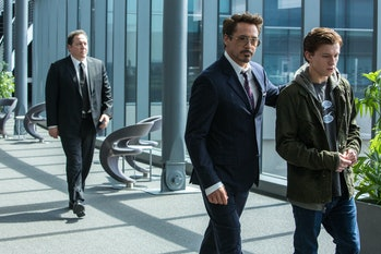 Spider-Man Homecoming Tony Stark