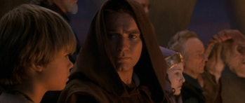 Obi-Wan and Anakin in 'The Phantom Menace'