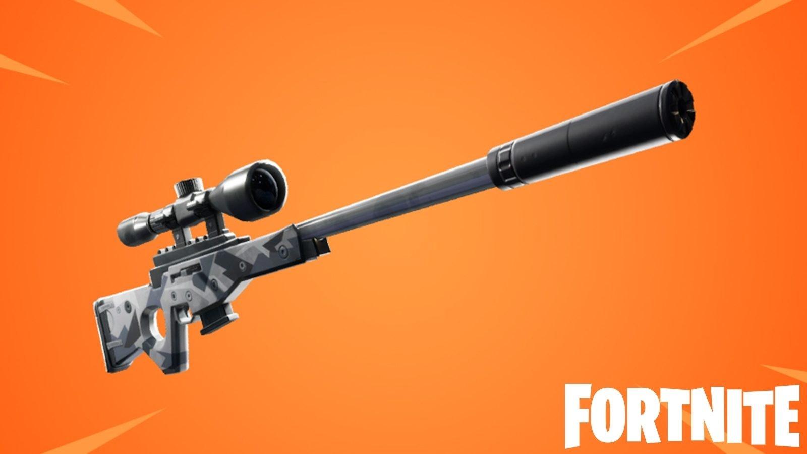 Fortnite Suppressed Sniper Rifle