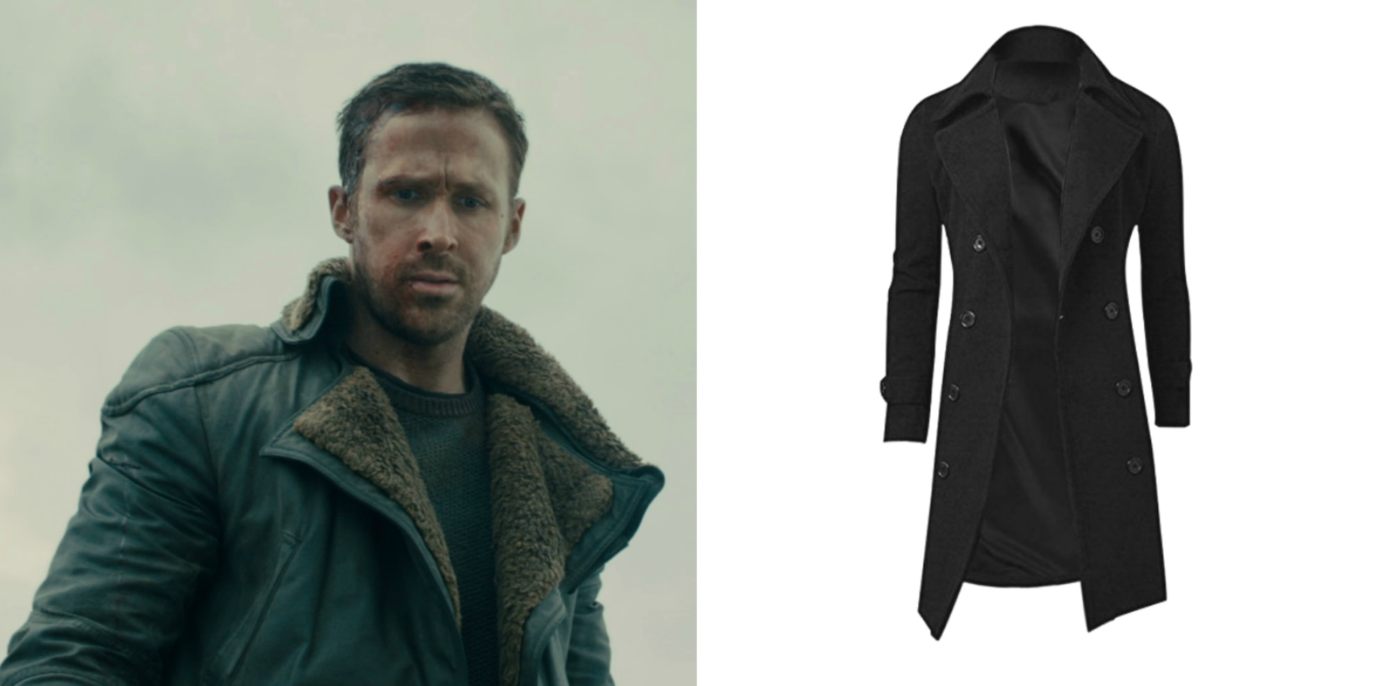 Ryan Gosling as Officer K in 'Blade Runner 2049'.