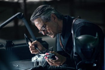 Justice League Jeremy Irons