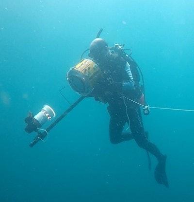 High-speed underwater camera