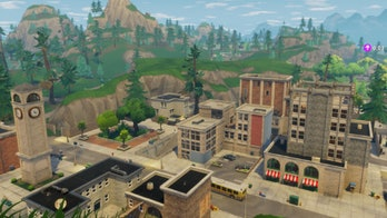 Tilted Towers is a city-like named location towards the center of the 'Fortnite: Battle Royale' map. As such, it's a popular landing destination.