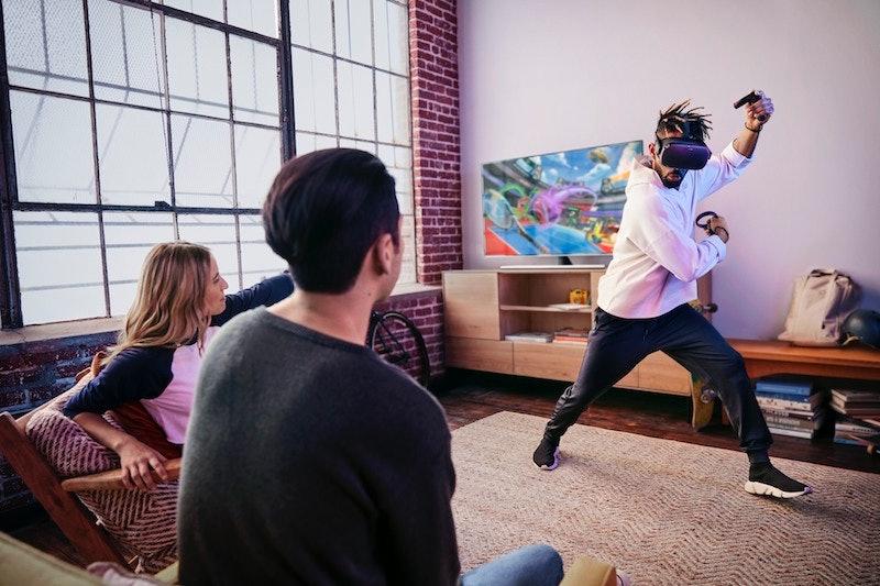 oculus quest headset vr virtual realiy