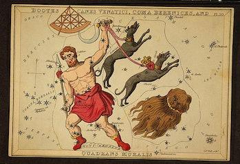 Quadrans muralis constellation
