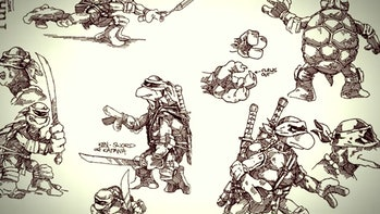 Netflix Ninja Turtles Concept Art