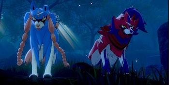 Zacian and Zamazenta Pokemon Sword and Shield