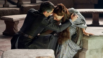 Petyr Baelish manipulates his short-term wife, Lyssa Arryn, in 'Game of Thrones'
