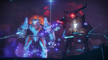 The Modular Mind, one of the new multi-phase bosses introduced in 'Destiny 2,' strikes.