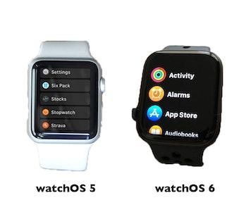 watchos 6 apple watch wwdc 2019 features