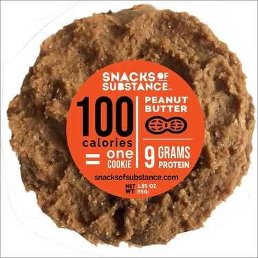 """100 calories = one cookie."""
