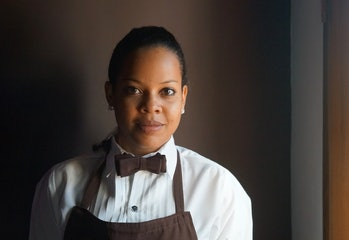 waitress, service employee