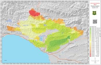 montecito mudslides thomas fire