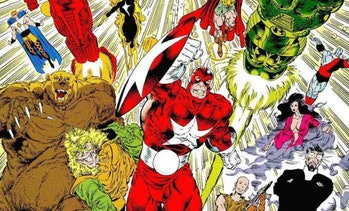 Red Guardian, as seen in Marvel comics