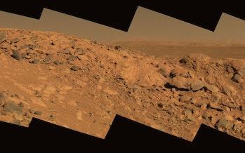 Columbia Hills on Mars