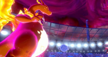 Gigantamax Charizard Sword and Shield Pokemon