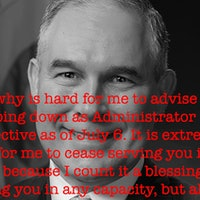 Just 18 Reasons Why Scott Pruitt Might Have Quit as EPA Chief