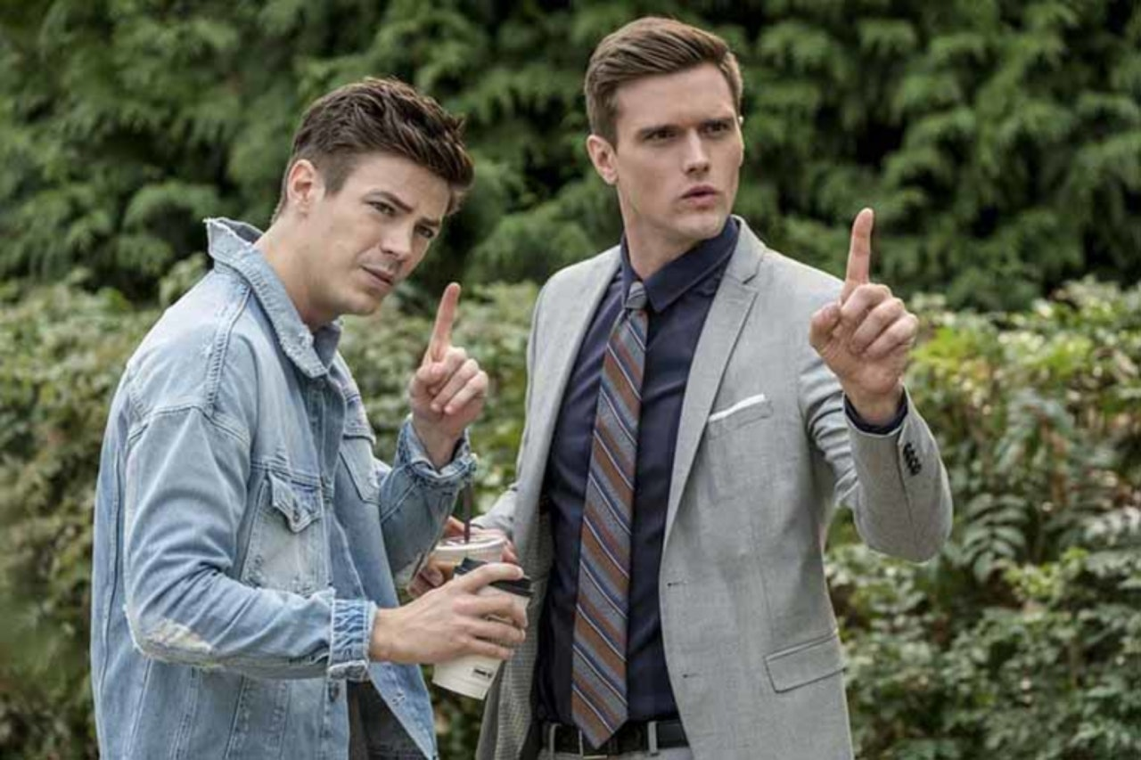 Barry and Ralph in 'The Flash'.