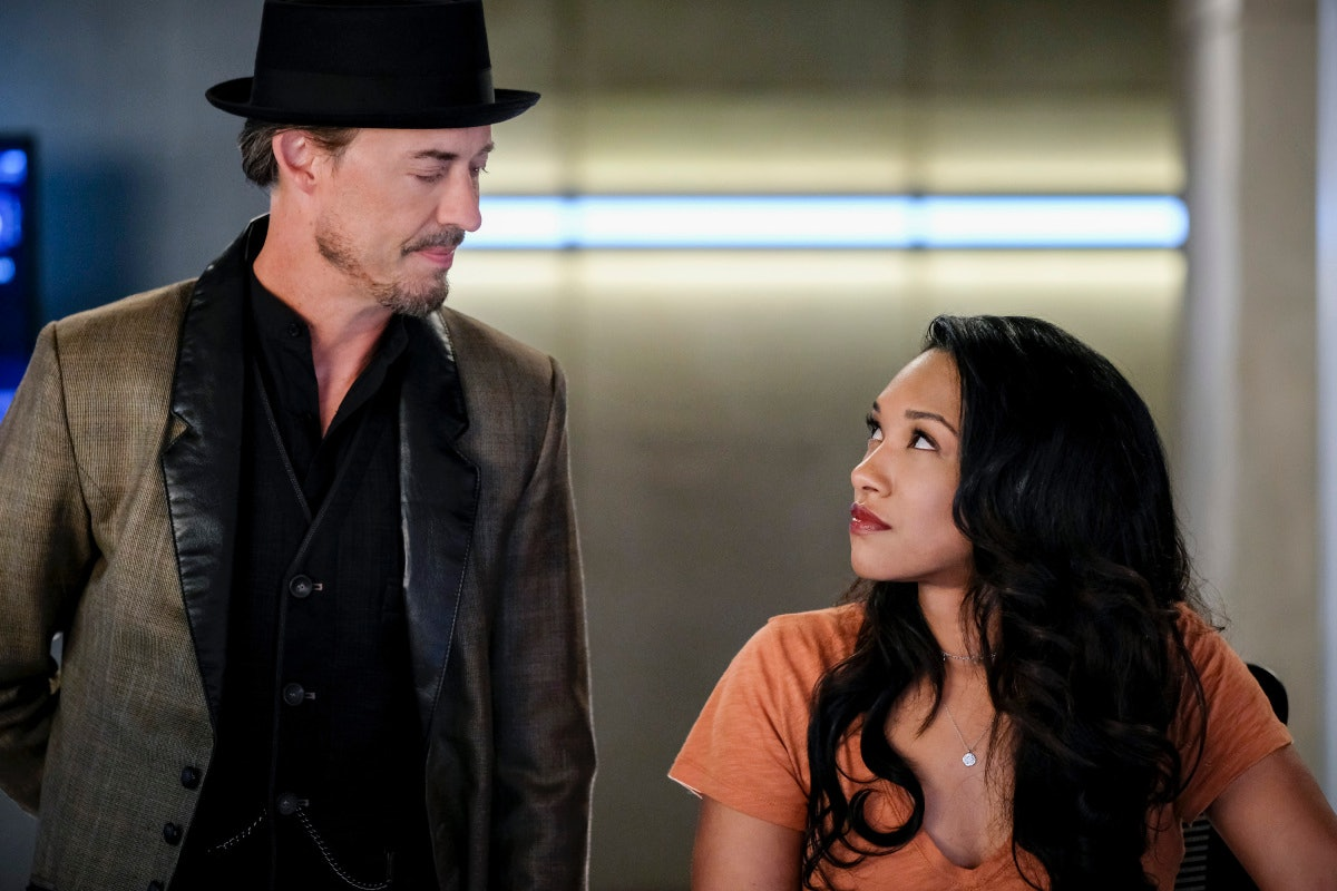 'The Flash' Sherloque Wells and Iris West-Allen