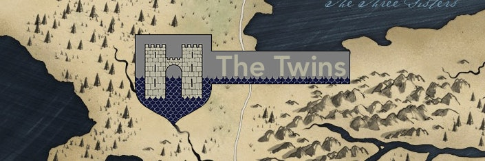 The Twins in 'Game of Thrones'