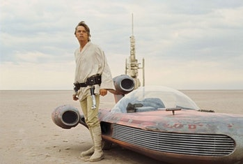 Luke Skywalker landspeeder