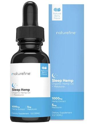 Hemp Oil + Melatonin