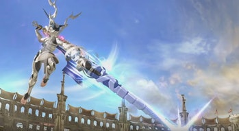 super smash bros corrin dragon lunge