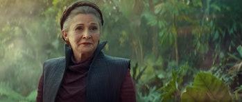 Is Leia training Rey?