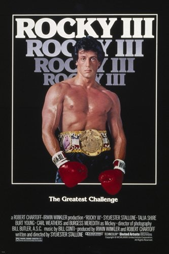 'Rocky III' movie poster