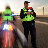 A Short History of the Police's Weird Relationship with Pokemon Go