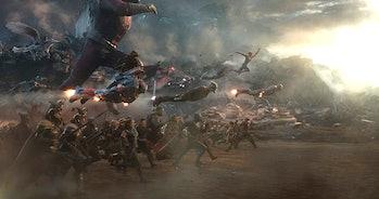 Still from Avengers: Endgame
