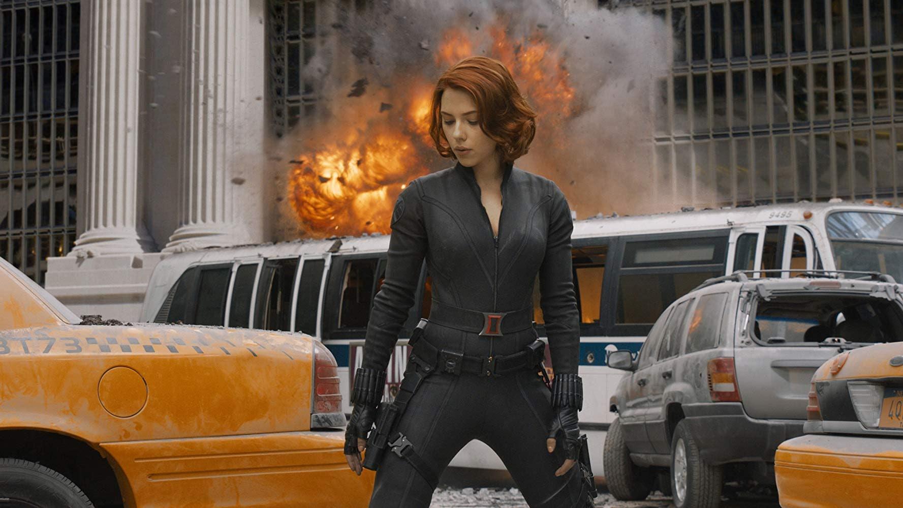 Natasha Romanoff as Black Widow in 'Marvel's The Avengers'