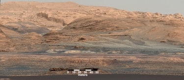 Mars looks a little like Arizona here in this shot captured by theMars Exploration Rover.