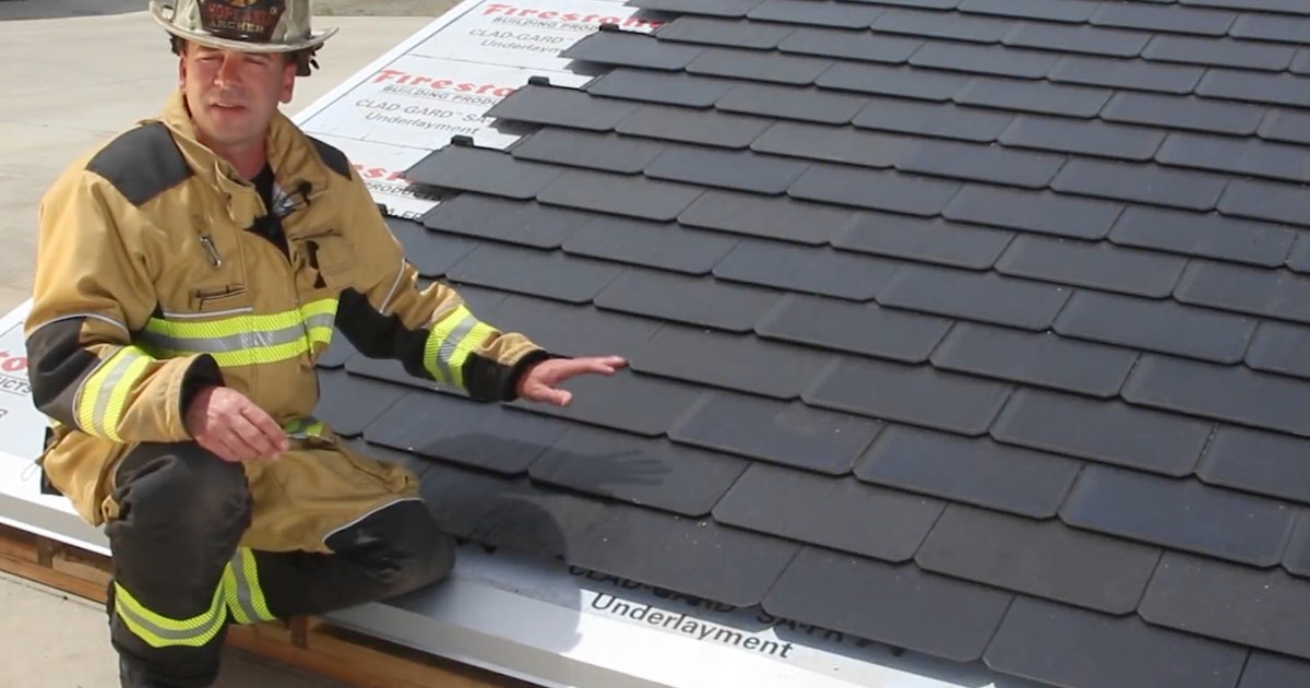 Tesla Solar Roof: Jaw-Dropping Design Showcased in Emergency Response Video