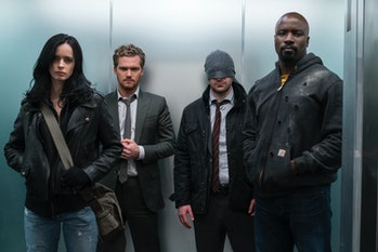The Defenders Punisher