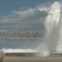 Watch NASA Perform Water Deluge Test to Prepare for SLS Launch
