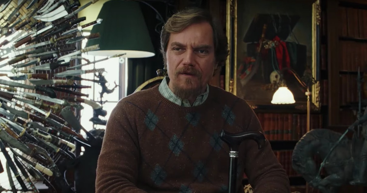 knives out michael shannon