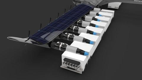 Swap hydrogen fuel cell to refuel plane.
