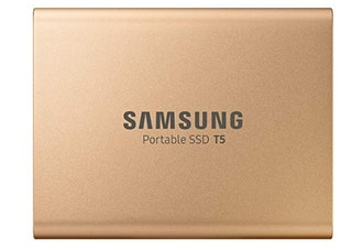 Samsung T5 Portable SSD - 1TB - Rose Gold - USB 3.1 External SSD