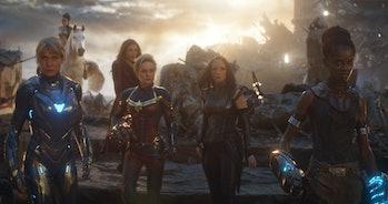 avengers endgame female heroes