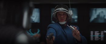 Matt Lanter (the voice of Anakin Skywalker!) in a random cameo in 'The Mandalorian.'