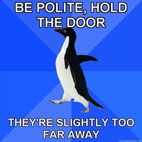 Awkward Penguin