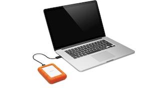 LaCie Rugged Mini 1TB External Hard Drive Portable HDD