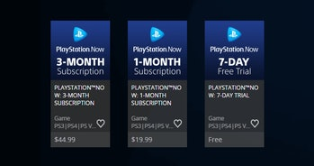 playstation now price