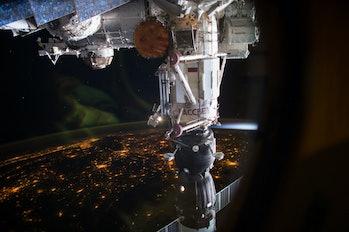 Soyuz MS-05 docked at ISS