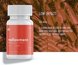 Mellowment Low Impact CBD Softgels