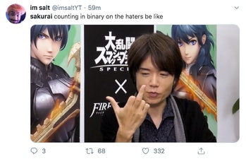 Super Smash Bros Ultimate Masahiro Sakurai