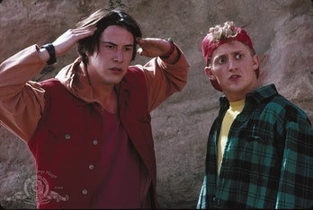 Still from 'Bill & Ted's Bogus Journey'