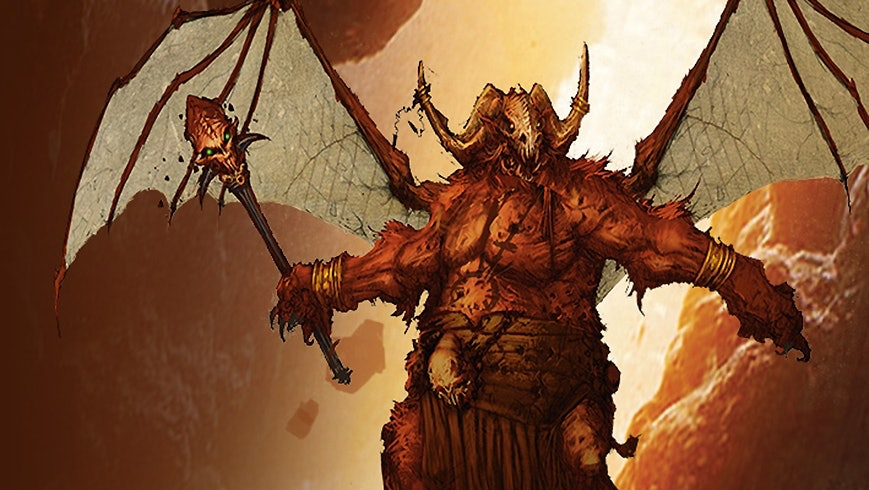 Orcus, Prince of the Undead.