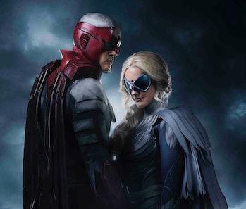 Titans DC Hawk and Dove